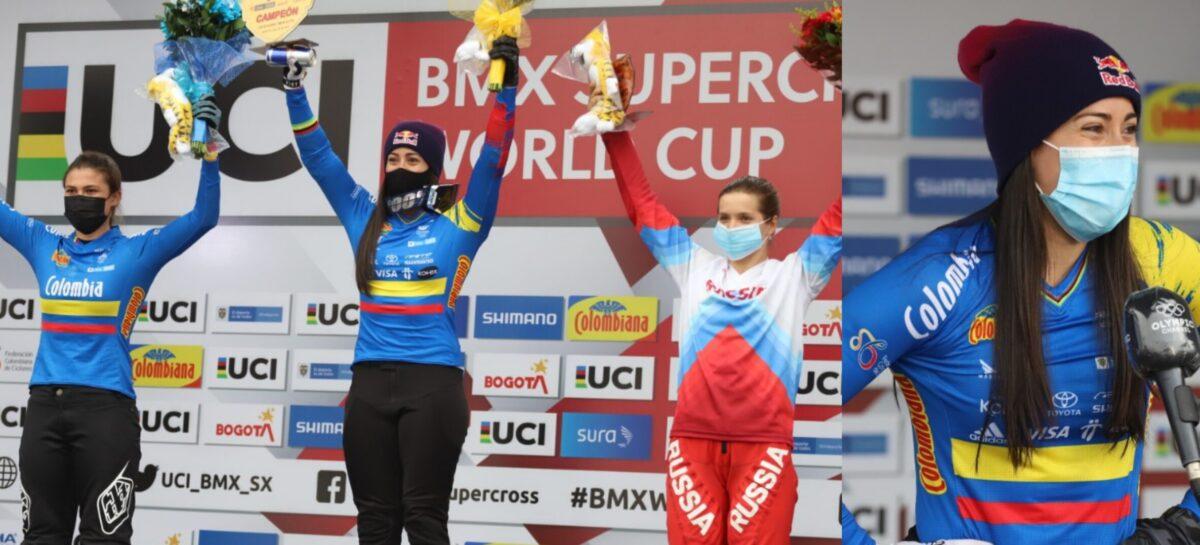 Mariana Pajón ganó la Copa Mundo de BMX y se acerca a los Juegos Olímpicos