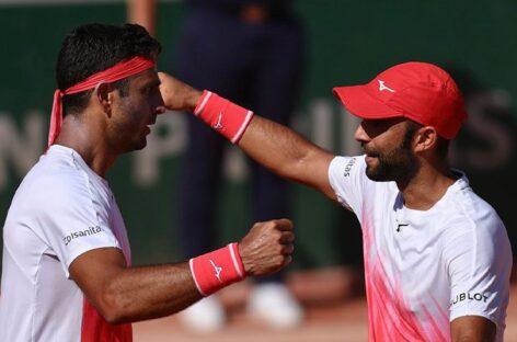 Juan Sebastián Cabal y Robert Farah clasificaron a la semifinal de Roland Garros