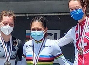 Carolina Munevar, campeona de la CRI en el Mundial de Paracycling en Portugal