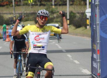 Andrés Mancipe, ganador de la segunda etapa de la Clásica de Rionegro