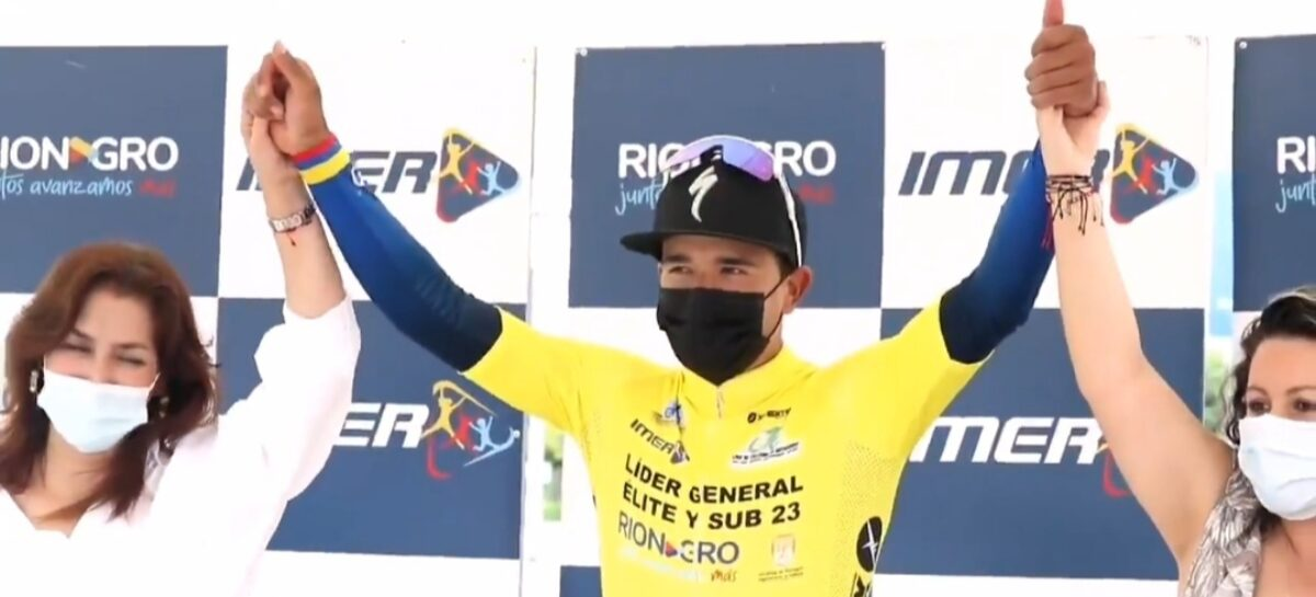 Robinson Chalapud, campeón de la Clásica de Ciclismo de Rionegro