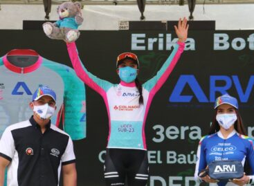 Erika Botero, de La Unión, es líder Sub 23 de la Vuelta a Guatemala