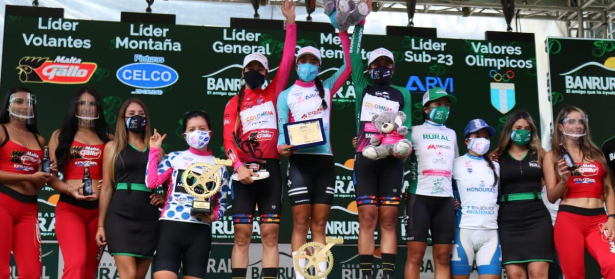 La unitense Erika Botero se proclamó campeona Sub 23 de la Vuelta Femenina a Guatemala