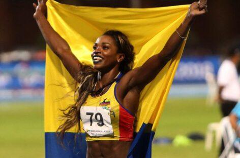 Caterine Ibargüen será la abanderada de Colombia en los Juegos Olímpicos