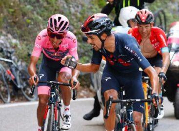 ¡Merecido! Daniel Martínez fue premiado como el mejor gregario del Giro de Italia