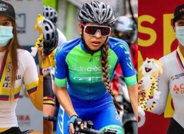 ¡1-2-3! Ciclistas del Oriente subieron al podio en el Campeonato Nacional de Ruta