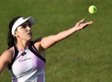 María Camila Osorio está a un partido de clasificar al cuadro principal de Wimbledon