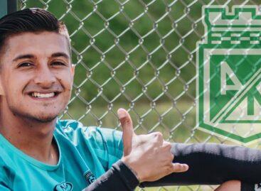 Yeison Guzmán fue anunciado como nuevo jugador de Atlético Nacional