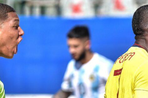 Colombia derrotó a Argentina y marcha con puntaje perfecto en las Eliminatorias de Fútbol Playa