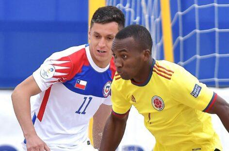 ¡9 de 9! La Selección Colombia clasificó a la semifinal de las Eliminatorias de Fútbol Playa