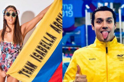 Isabella Arcila y Jorge Murillo estarán en los Juegos Olímpicos