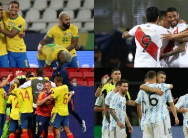 Fecha y hora de las semifinales de la Copa América
