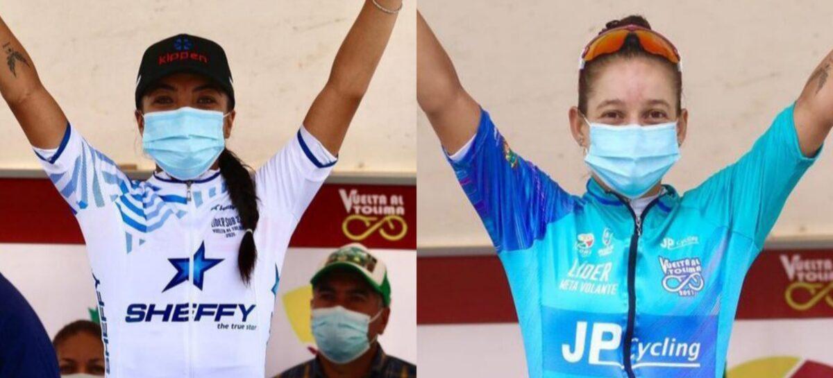 Erika Botero y Katherin Montoya fueron protagonistas en la Vuelta al Tolima
