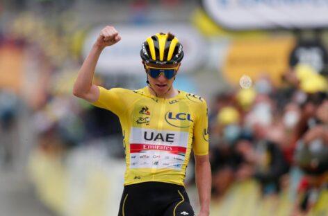 Tadej Pogacar ganó la etapa 18 y sentenció el Tour de Francia