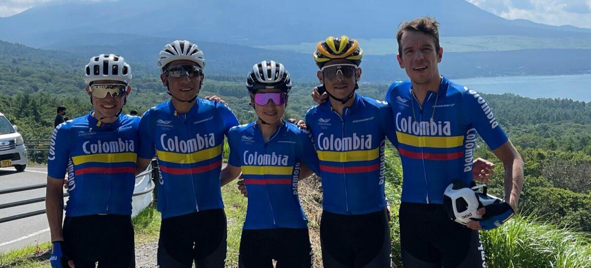 Selección Colombia de Ciclismo, listos para los Juegos Olímpicos
