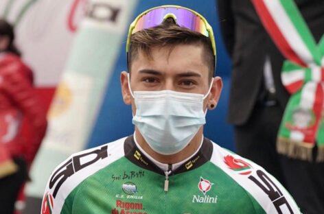 Alejandro Osorio, de El Carmen, correrá en un equipo World Tour en 2022