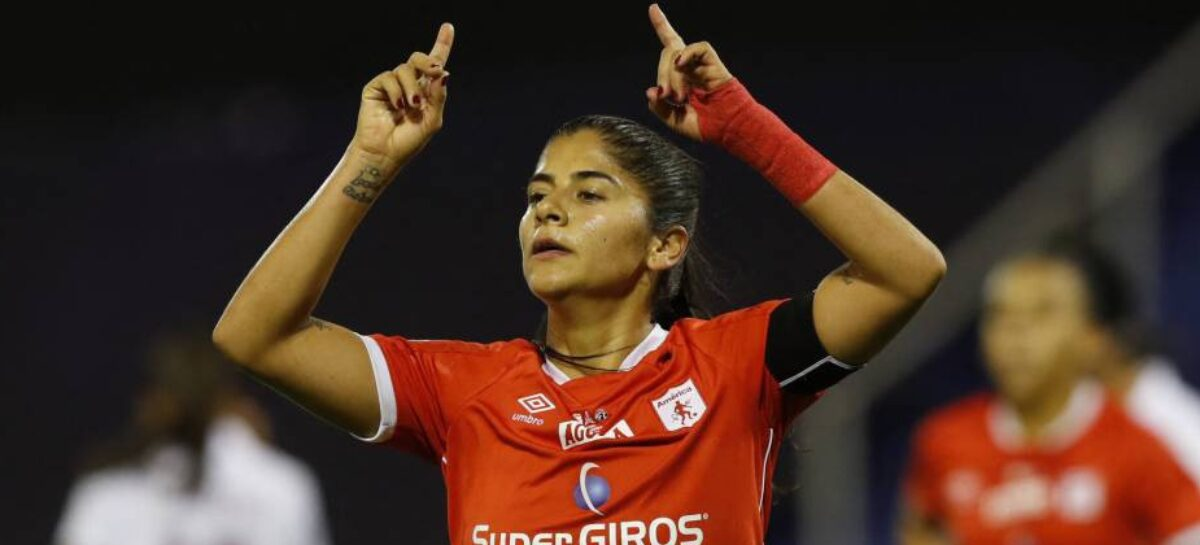 ¡29 goles! Catalina Usme se convirtió en la máxima goleadora en la historia de la Liga Femenina