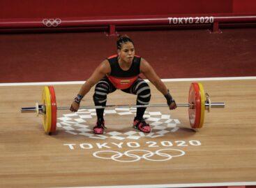 Diploma olímpico para la colombiana Mercedes Pérez en Tokio