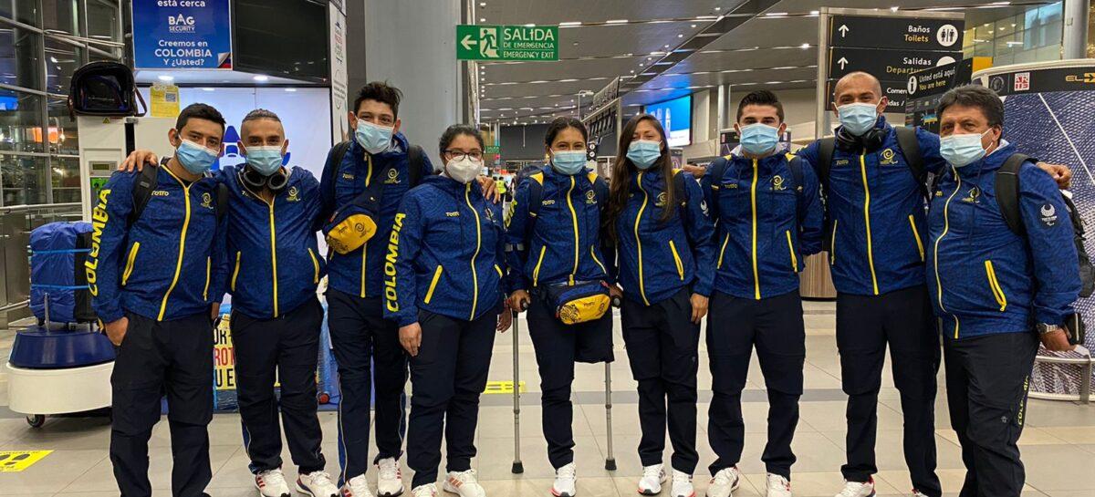 Deportistas colombianos viajan a Tokio para disputar los Juegos Paralímpicos