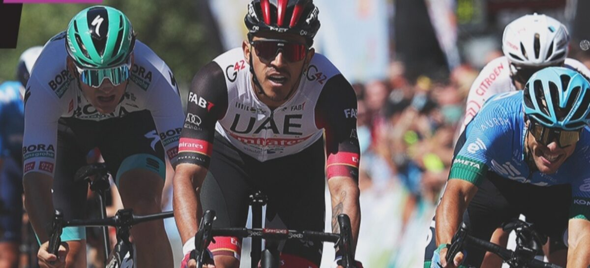 Victoria para Juan Sebastián Molano en la cuarta etapa de la Vuelta a Burgos