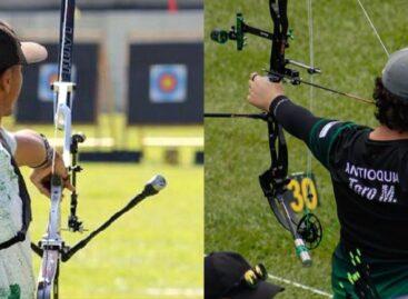 Dos deportistas de Rionegro representan a Colombia en el Mundial Juvenil de Tiro con Arco