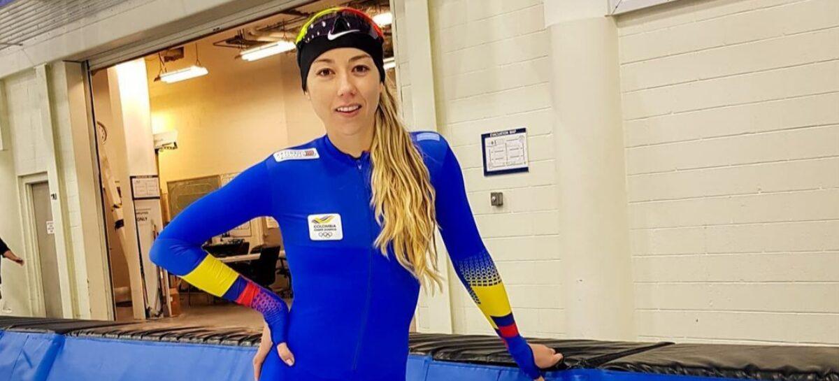 Laura Gómez ya entrena con la Selección Colombia de Patinaje Sobre Hielo en EEUU