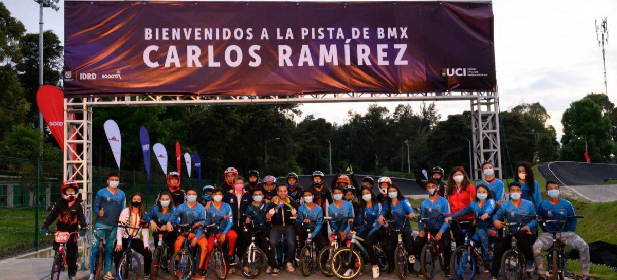 ¡Merecido homenaje! Carlos Ramírez ya tiene su propia pista de BMX