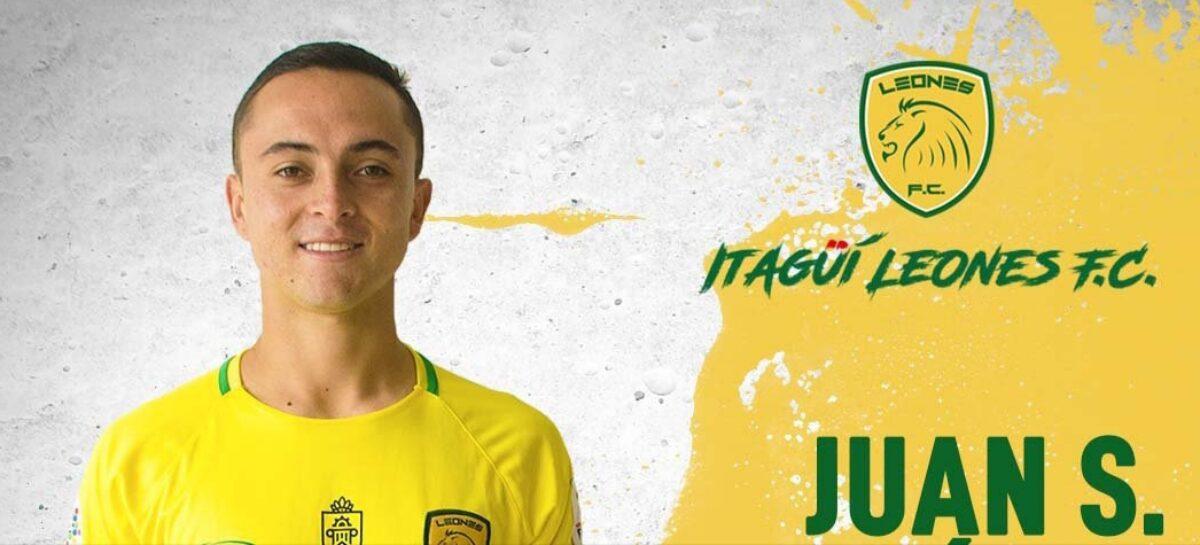 El rionegrero Sebastián López es nuevo jugador de Leones de Itagüí