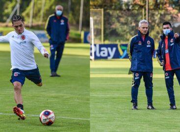 La Selección Colombia tuvo su primer entrenamiento de cara a las Eliminatorias