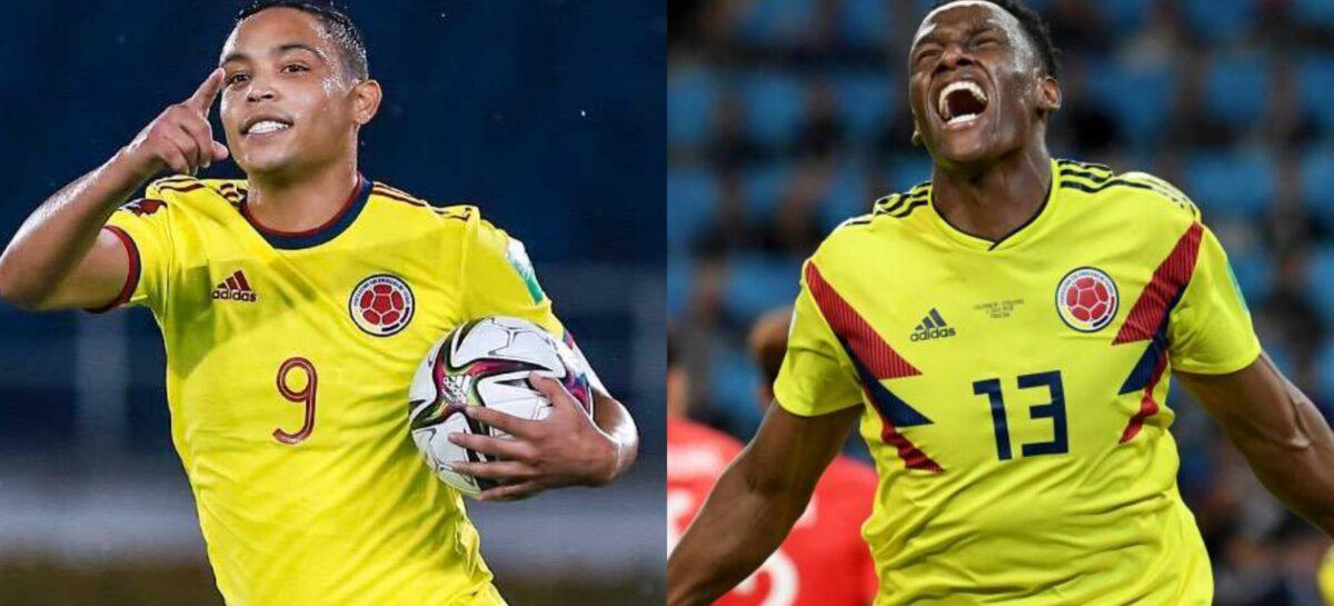 Luis Fernando Muriel y Yerry Mina no estarán con Colombia en las Eliminatorias
