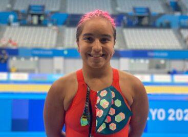 Con apenas 14 años, Sara Vargas ha ganado dos diplomas paralímpicos en Tokio