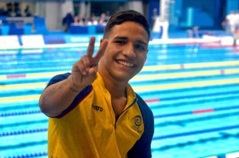 Carlos Serrano ganó una nueva medalla en los Juegos Paralímpicos