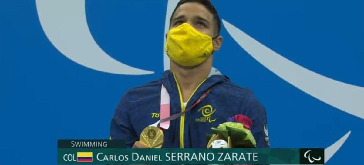 ¡Campeón paralímpico! Oro para Carlos Serrano en Tokio