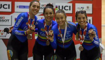 Bronce para la carmelitana Lina Marcela Hernández en la Copa de Naciones UCI