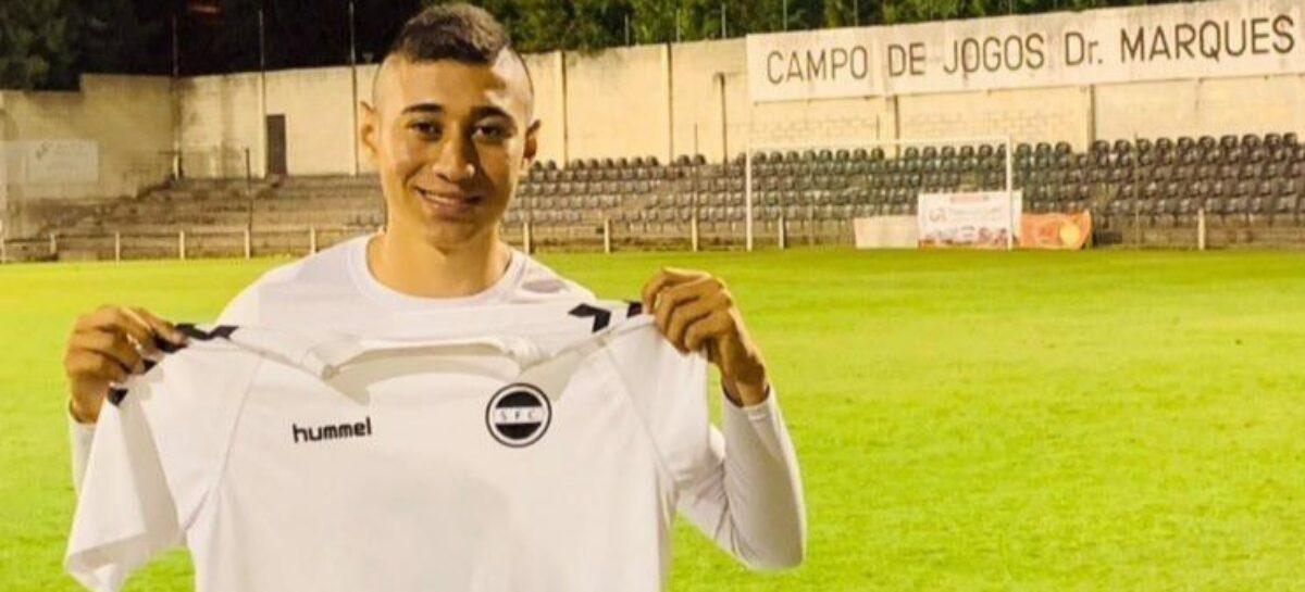 Juan José Gil, el futbolista de Rionegro que fue fichado por un equipo de Portugal