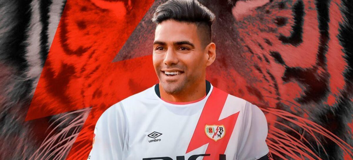 Radamel Falcao García es nuevo jugador del Rayo Vallecano