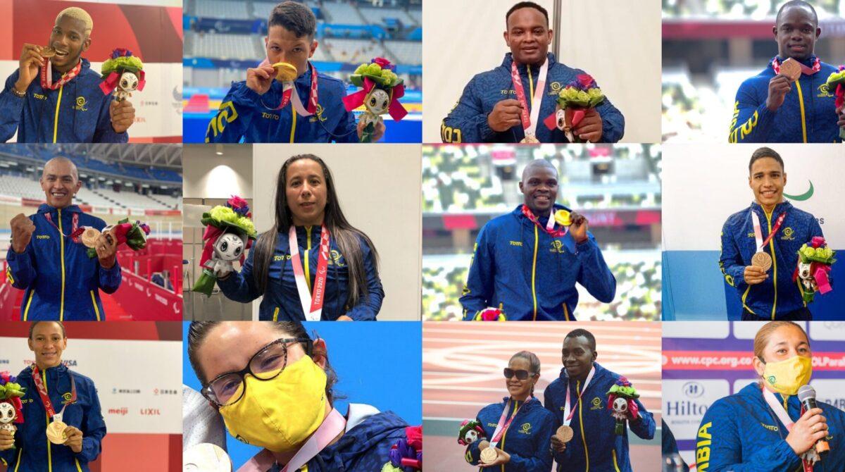 Colombia logró la mejor participación de su historia en los Juegos Paralímpicos