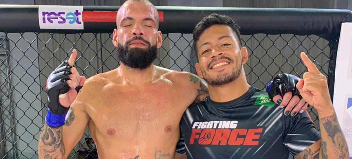 Maicol Toro, el cejeño que logró su primera victoria como entrenador en la MMA profesional