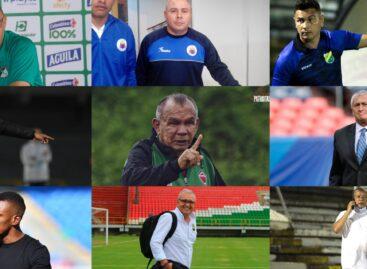 En ocho fechas, nueve entrenadores han dejado de dirigir en el FPC