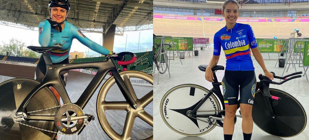 Juliana Gaviria y Lina Marcela Hernández, listas para la Copa de Naciones UCI