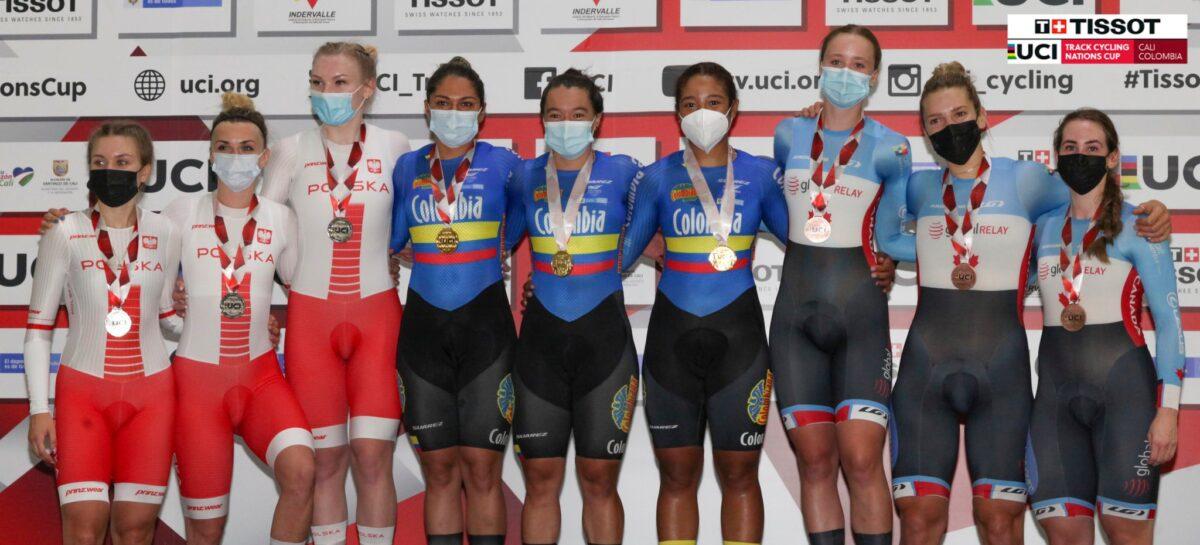 Medalla de oro para la cejeña Juliana Gaviria en la Copa de Naciones UCI