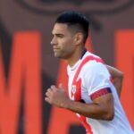 ¡Gran debut! Falcao marcó su primer gol con el Rayo Vallecano