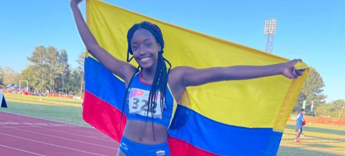 Colombia, subcampeón del Sudamericano Sub-18 de Atletismo en Paraguay