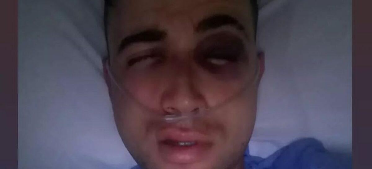 Alexander Gil ya se recupera tras el accidente en la Vuelta a Antioquia