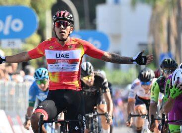 Juan Sebastián Molano está imparable: ganó la segunda etapa del Giro de Sicilia