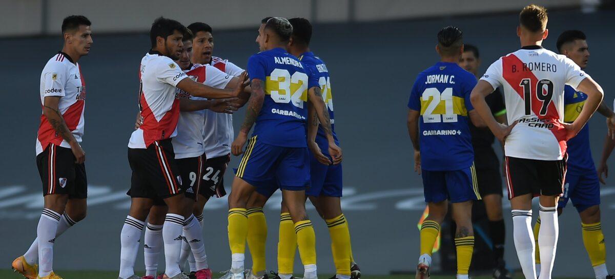 En un nuevo 'Superclásico', River Plate derrotó a Boca Juniors