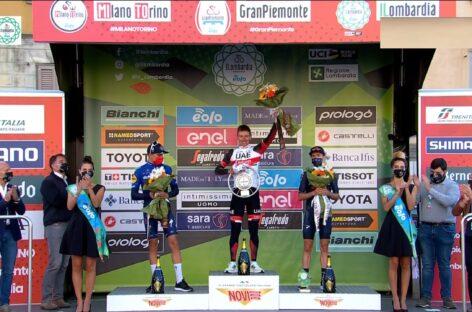 Tadej Pogacar sigue haciendo historia: se consagró campeón del Giro de Lombardía