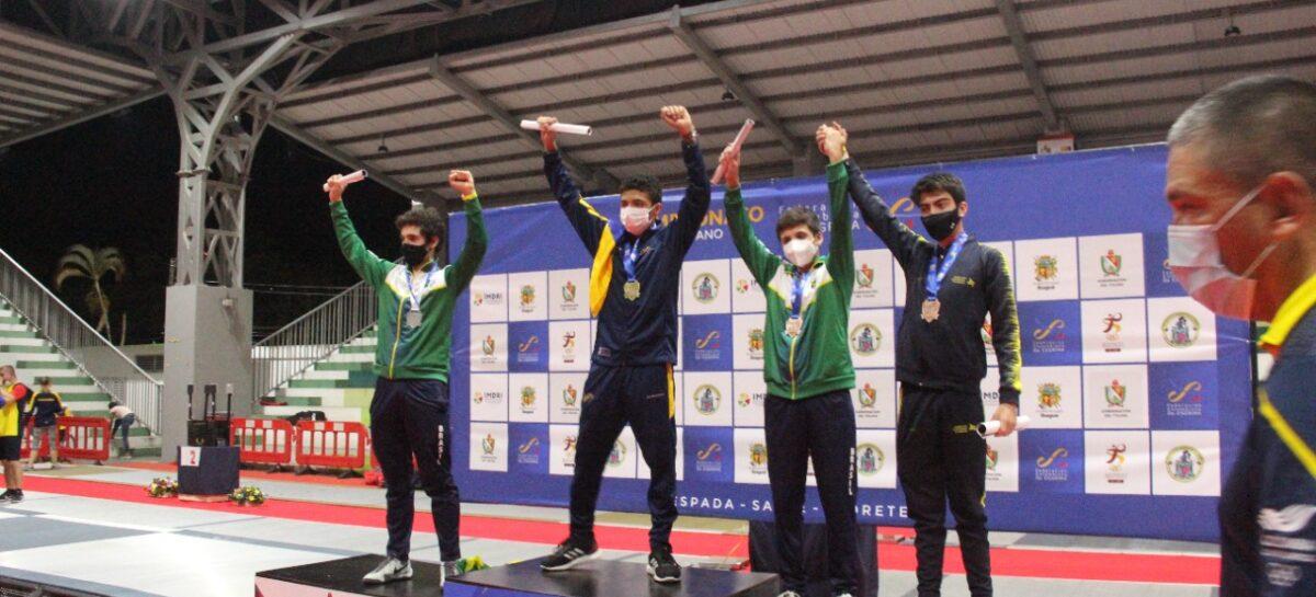 Colombia ganó cuatro oros y una plata en el Suramericano Juvenil de Esgrima
