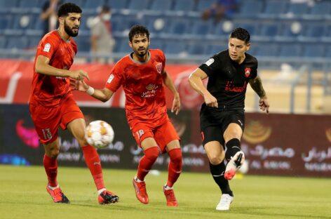 Después de cinco meses y un día, James Rodríguez volvió a jugar un partido oficial