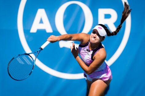 Por primera vez, María Camila Osorio derrotó a una tenista Top 10 del mundo